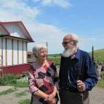 Администратор кемпинга Татьяна Алексеевна и Андрей Александрович